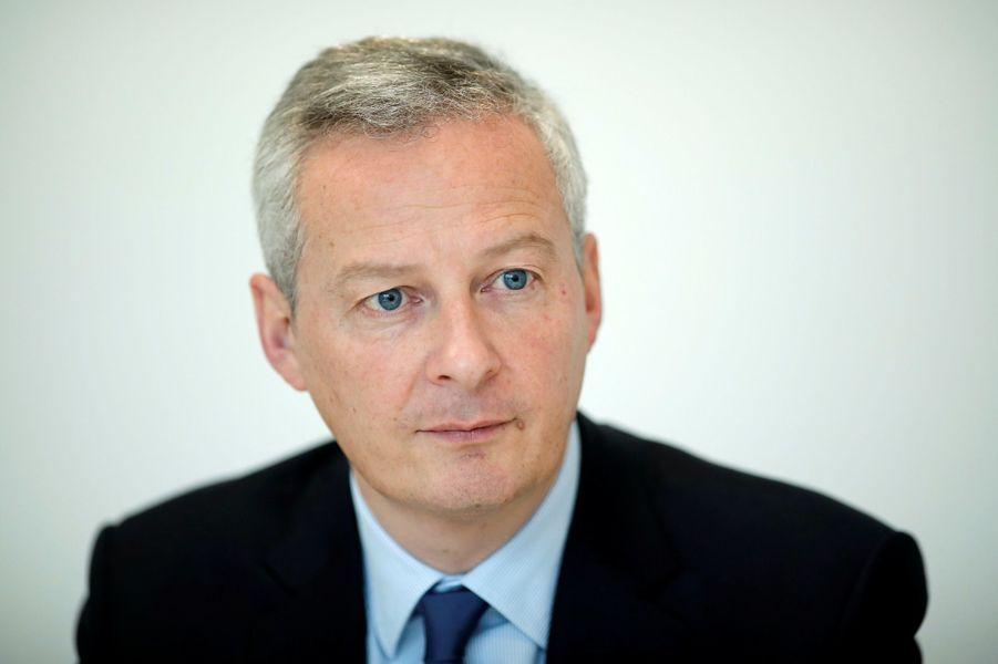 Bruno Le Maire, nommé ministre de l'Economie.