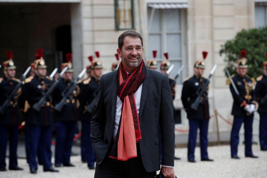 Christophe Castaner, chargé des Relations avec le Parlement, porte-parole du gouvernement.