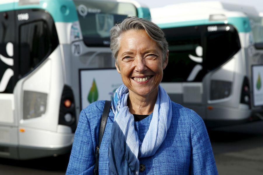 Elisabeth Borne, nommée ministre chargée des Transports auprès de Nicolas Hulot.