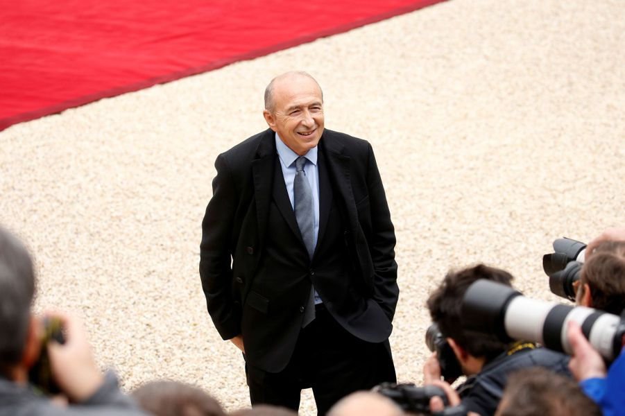Gérard Collomb, nommé ministre de l'Intérieur, au rang de ministre d'Etat