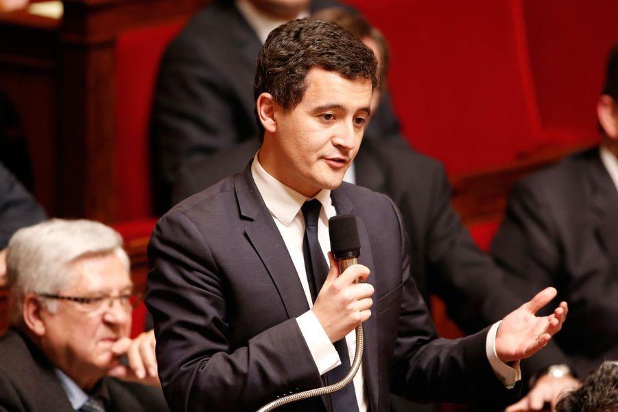 Gérald Darmanin, nommé ministre de l'Action et des Comptes publics.