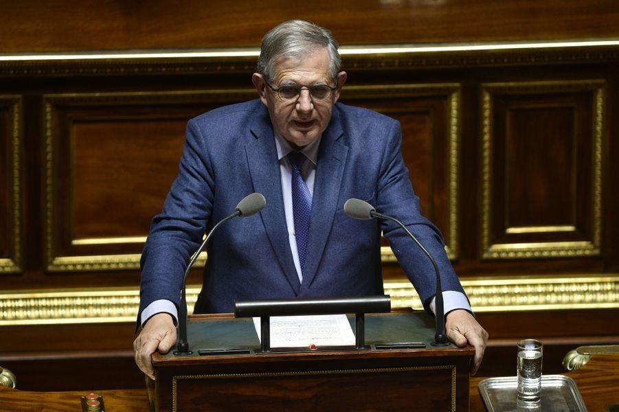 Jacques Mézard, nommé ministre de l'Agriculture et de l'Alimentation.