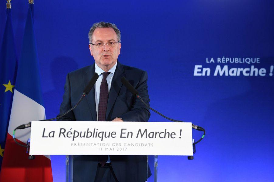 Richard Ferrand, ministre de la Cohésion des territoires.