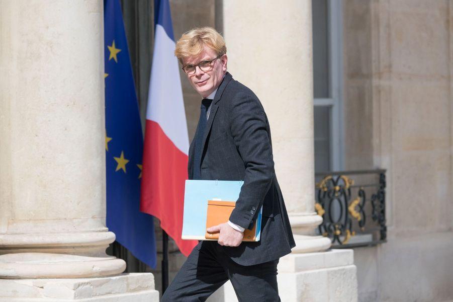 Marc Fesneau (Chargé des Relations avec le Parlement et de la participation citoyenne)