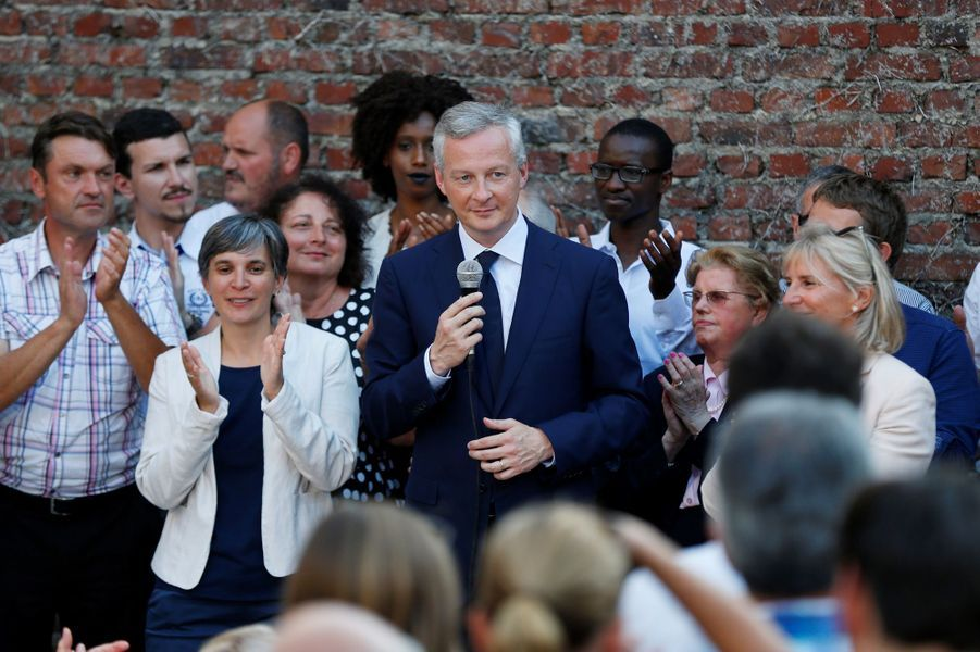 Bruno Le Maire, ministre de l'Economie : 64,53%