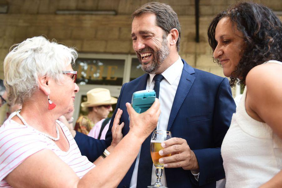 Christophe Castaner,porte-parole du gouvernement: 61,57%