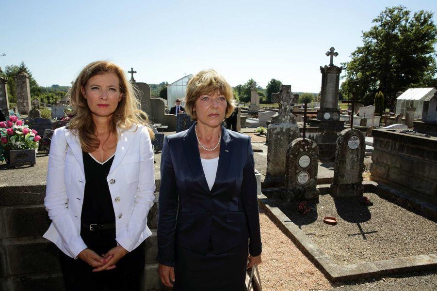 Valérie Trierweiler et Daniela Schadt, la compagne de Joachim Gauck.