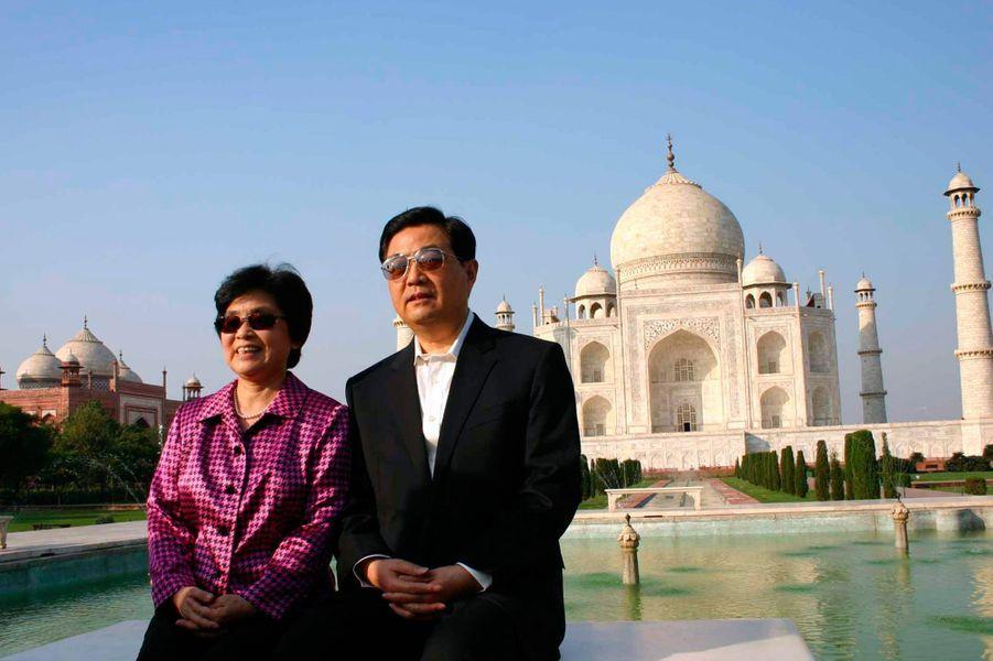 En novembre 2006, c'est au tour du président chinois Hu Jintao et sa femme Liu Yongqing.