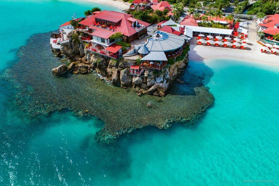 L'Eden Rock, le mythique palace de Saint-Barthélémy complètement rénové suite aux dommages dus au passage d'Irma qui vient de réouvrir ses portes.