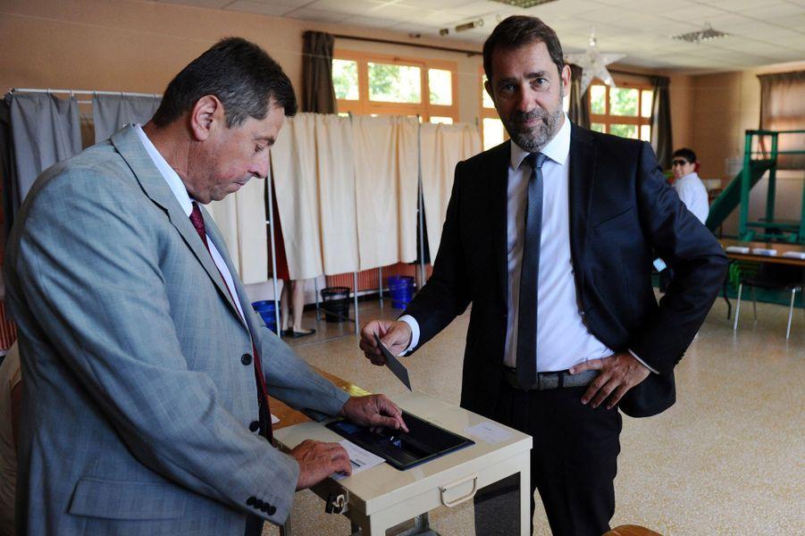 Christophe Castaner,porte-parole du gouvernement,est arrivé en tête avec 44% des voix dans la 2e circonscription des Alpes-de-Haute-Provence.
