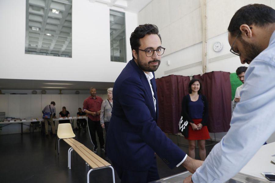 Mounir Mahjoubi,secrétaire d'État au Numérique, a obtenu environ 37% des voix dans la 16e circonscription de Paris.