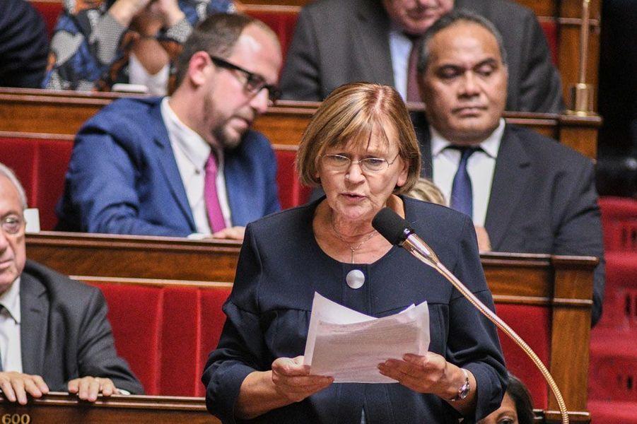 L'ex-ministre des Sports Marie-George Buffet (PCF) réélue en Seine-Saint-Denis (à l'AFP).
