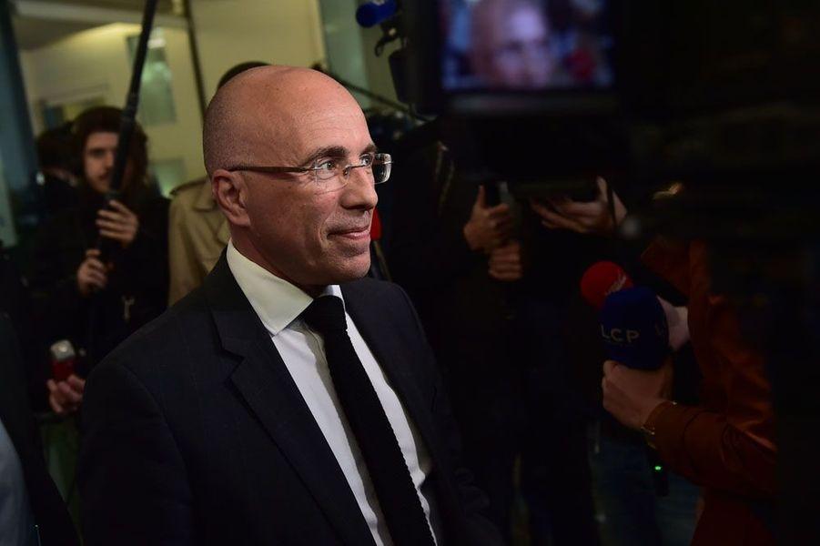 Le député LR sortant Eric Ciotti a annoncé dimanche sur Twitter sa réélection dans la première circonscription des Alpes-Maritimes au second tour des législatives.