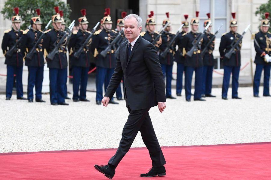 L'écologiste François de Rugy (REM) réélu en Loire-Atlantique (à l'AFP).