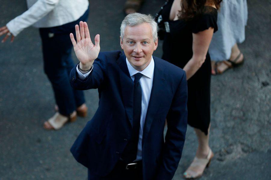 Le ministre Bruno Le Maire annonce qu'il est réélu dans l'Eure Ciotti (LR) réélu dans la 1ère circonscription des Alpes-Maritimes