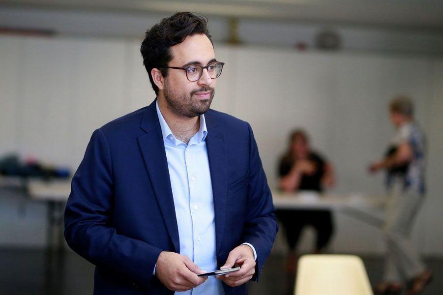 Mounir Mahjoubi, benjamin du gouvernement à 33 ans, a été élu député dans la 16eme circonscription de Paris.