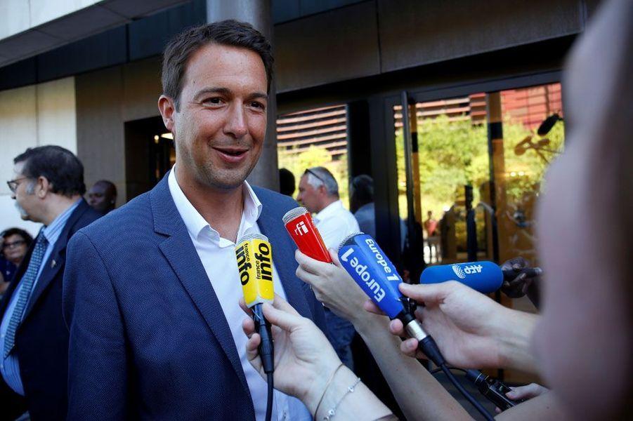Guillaume Peltier, élu sous l'étiquette LR dans la deuxième circonscription du Loir-et-Cher.