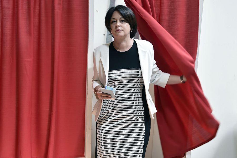 Sylvia Pinel, présidente du PRG, a été réélue députée de la 2e circonscription du Tarn-et-Garonne au 2e tour des élections législatives avec 55,4% des suffrages face au candidat FN Romain Lopez (44,60%).