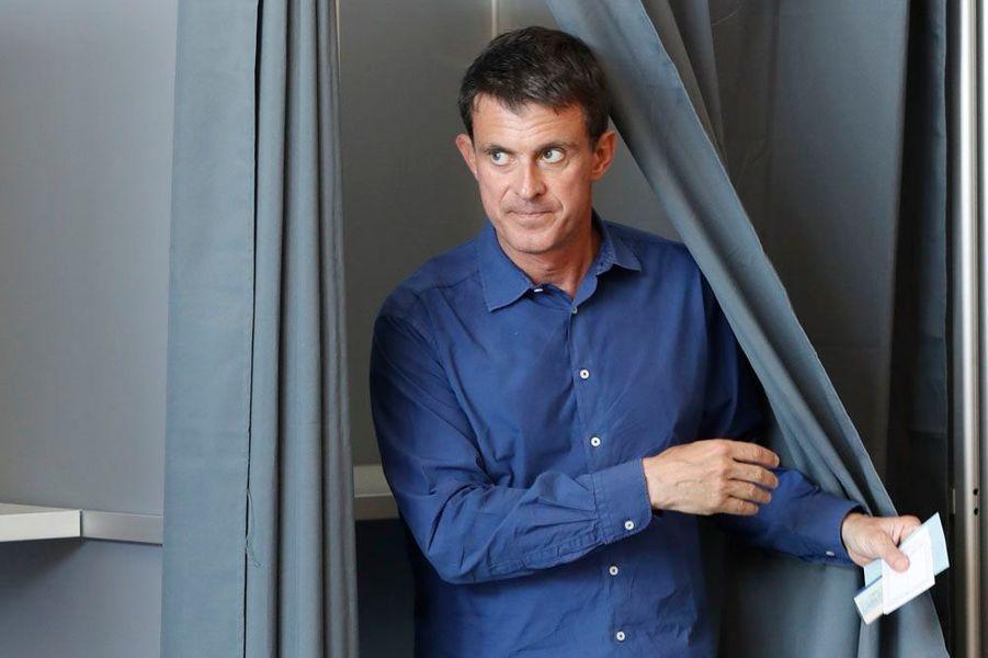 Manuel Valls, ex-Premier ministre, élu dans l'Essonne.