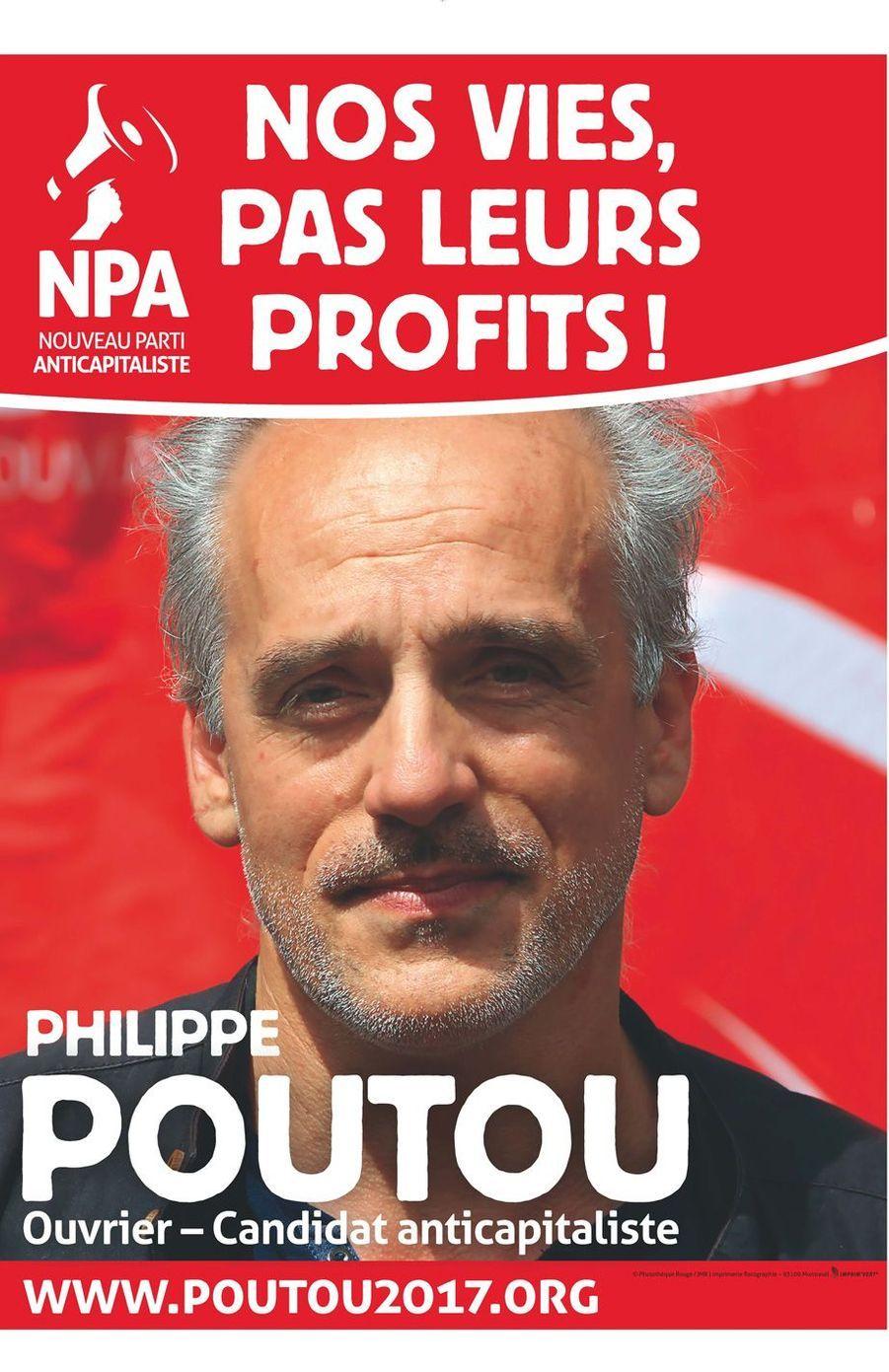 Philippe Poutou (Nouveau parti anticapitaliste).