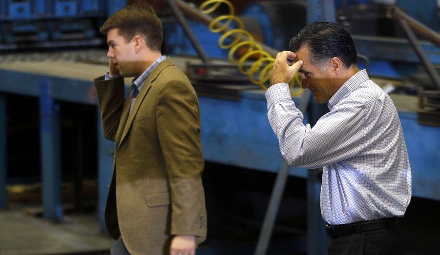 """Surnommé le """"Body Man"""", Garrett Jackson suit Mitt Romney comme son ombre. Il élabore chaque jour l'emploi du temps du candidat républicain."""