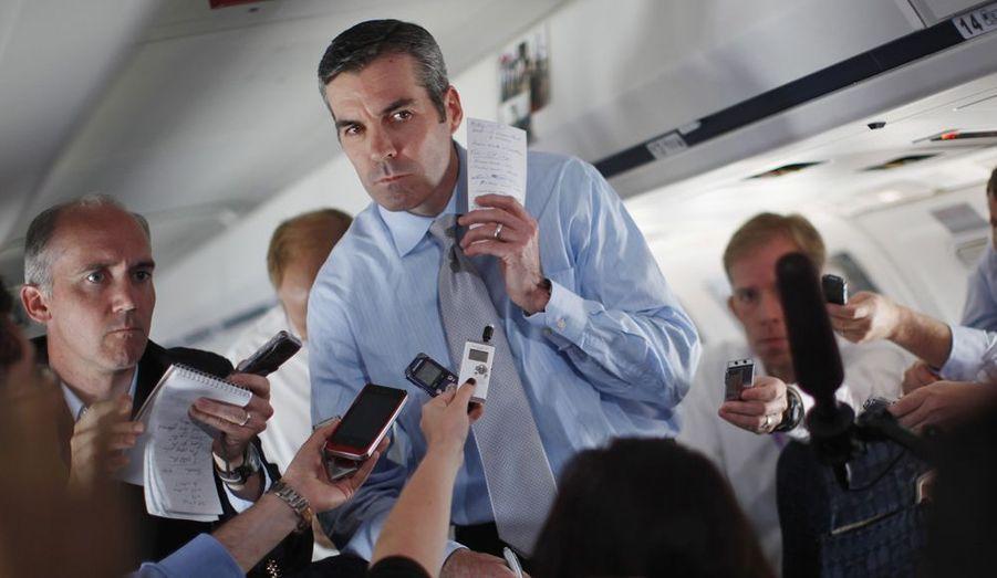 Kevin Madden est un conseiller et le porte-parole de Mitt Romney, expert des relations publiques.