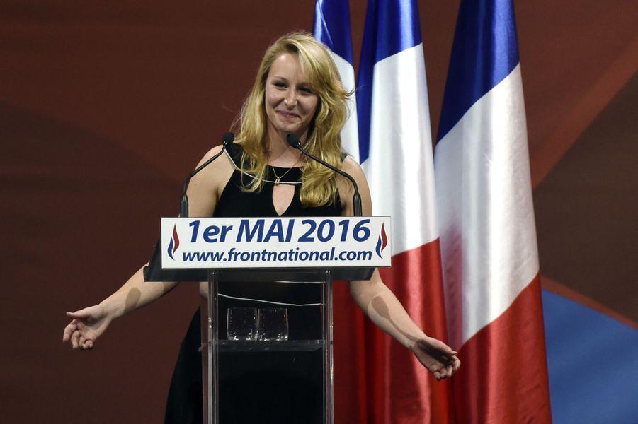 Marion Maréchal-Le Pen au banquet du FN, le 1er mai 2016.