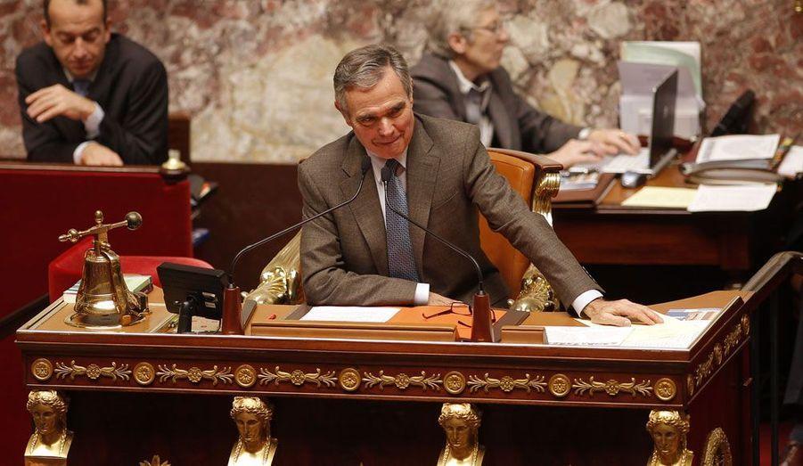 Durant la présidence de Nicolas Sarkozy, c'est le député de Haute-Savoie qui prend la tête de l'Assemblée nationale.