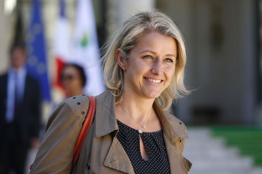 La secrétaire d'Etat à la Biodiversité Barbara Pompili.
