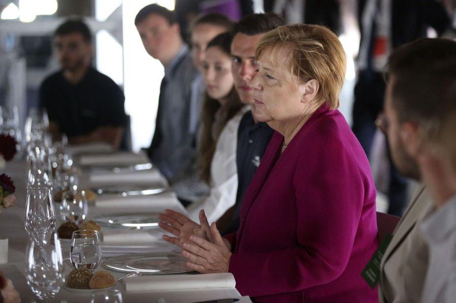 Angela Merkel le 16 octobre 2019 à Toulouse.