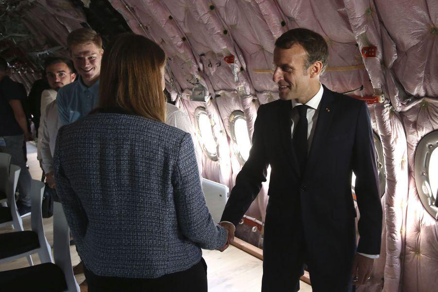 Emmanuel Macron le 16 octobre 2019 à Toulouse.