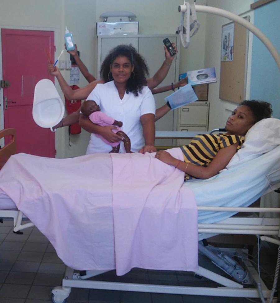 Laura Tetu: lauréate nationale (3e prix, filière Services), Filière accompagnement, soins et services à la personne