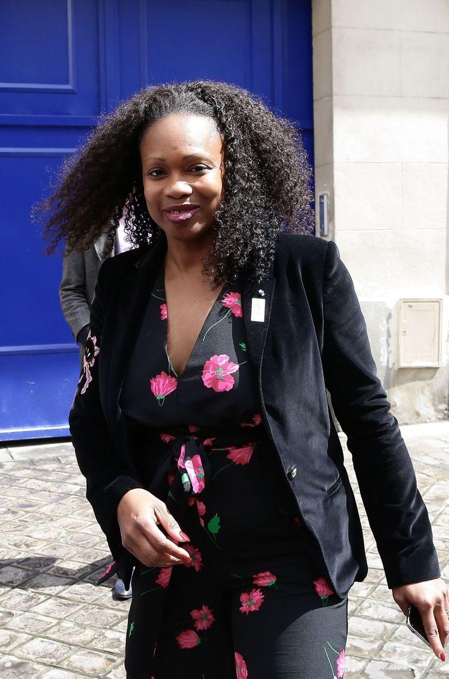 Laura Flessel à Paris, le 19 mai 2017.