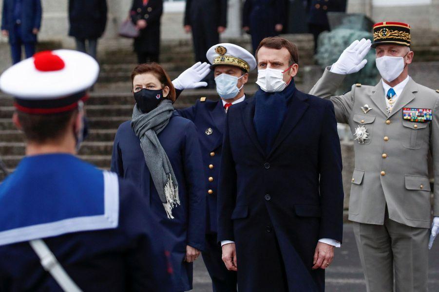 Emmanuel Macron et Florence Parly.