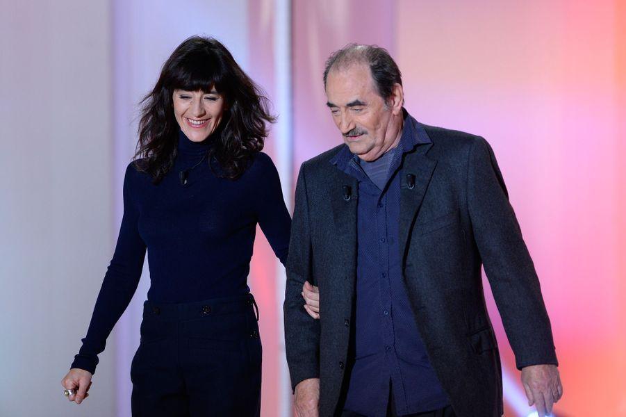 Romane et Richard Bohringer penchent pour le candidat de la France insoumise.