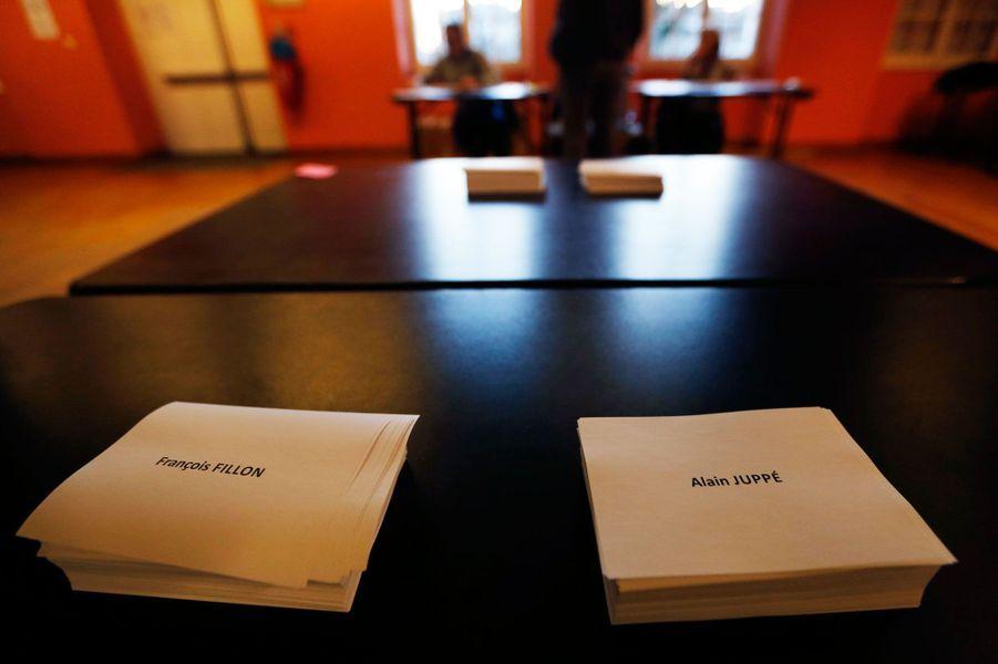 Primaire de la droite : François Fillon et Alain Juppé ont voté