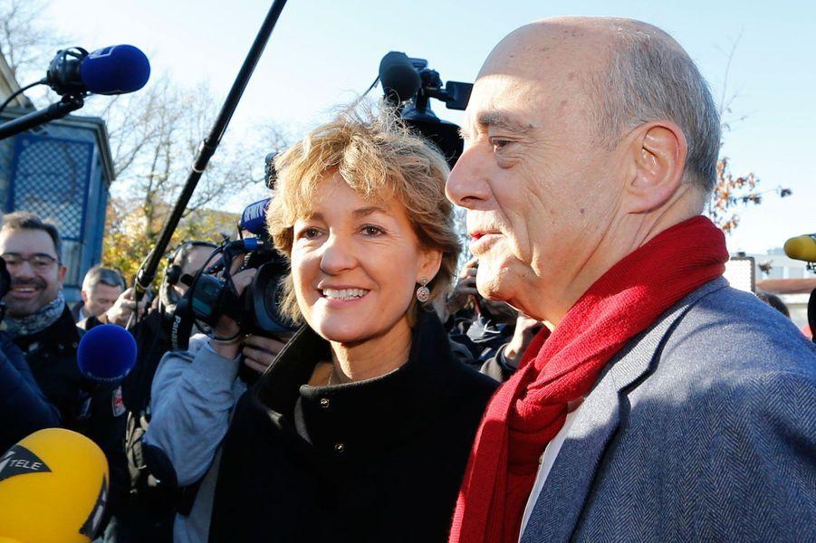 Alain Juppé et son épouse Isabelle.