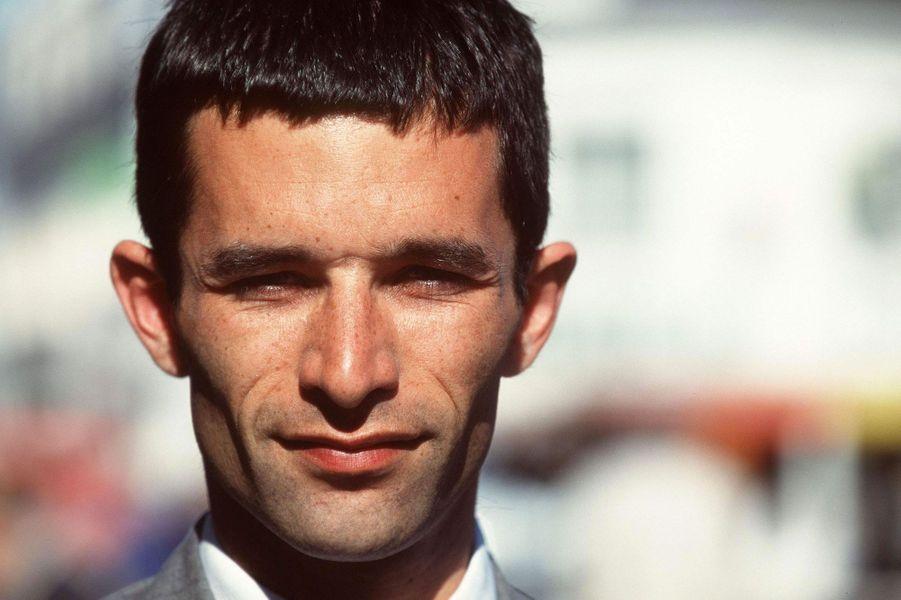 Benoît Hamon en 1997. A 30 ans, il est candidat aux élections législatives.