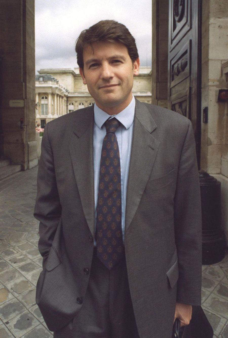 Vincent Peillon à Lille, vers 2000.