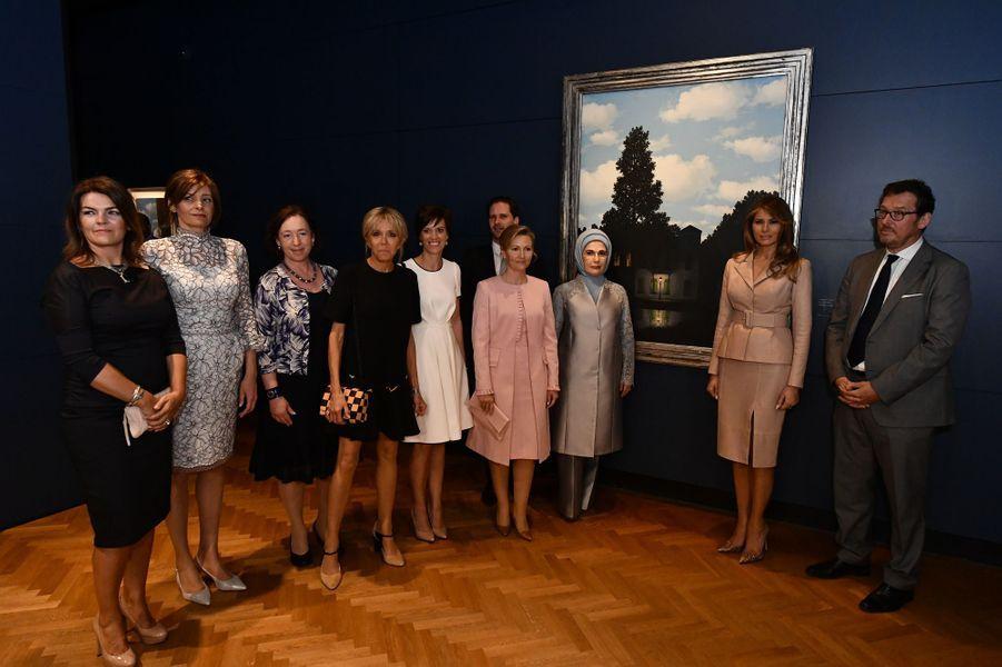 Visite du musée Magritte.