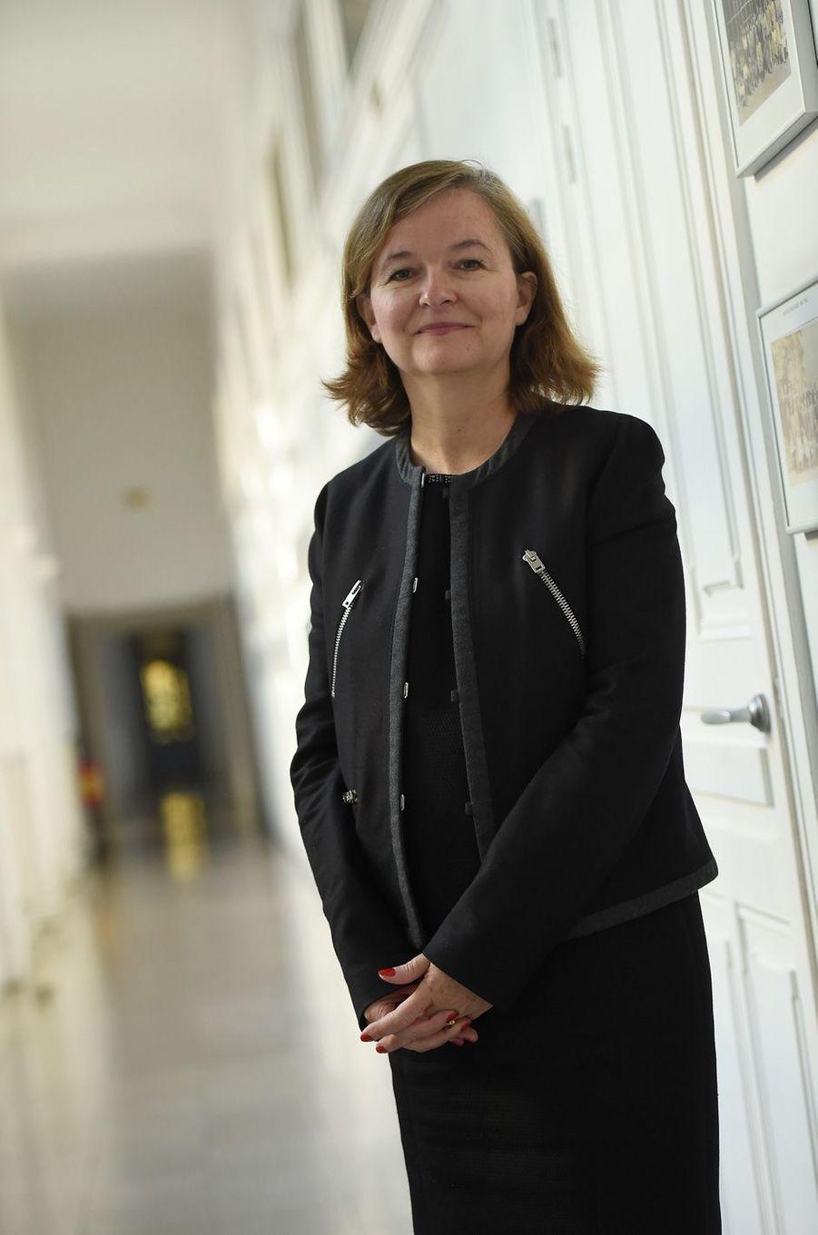 Nathalie Loiseaua été nomméeministre chargée des Affaires européennes.