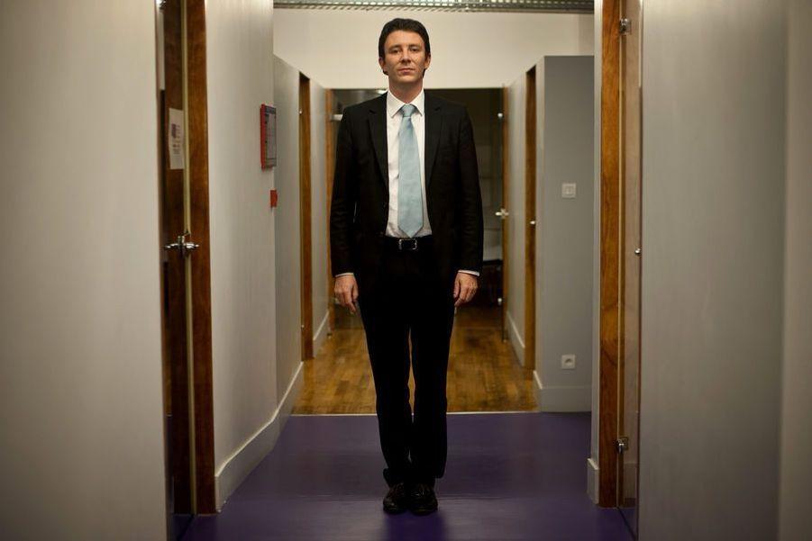 Benjamin Griveaux,directeur de la communication et des affaires publiques d'Unibail-RodamcoCet ancien élu socialiste, ici en 2009, s'était fait remarquer cette année-là parune tribune assassine demandant la démission de Jean Sarkozy. Il est aujourd'hui porte-parole d'En Marche!.