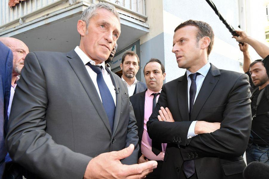 Philippe Saurel, maire et président de la métropole de MontpellierIl a intégré l'équipe de campagne pour la présidentielle du mouvement «En marche» et participe à l'écriture du projet politique, plus particulièrement sur les sujets santé, culture et Méditerranée.