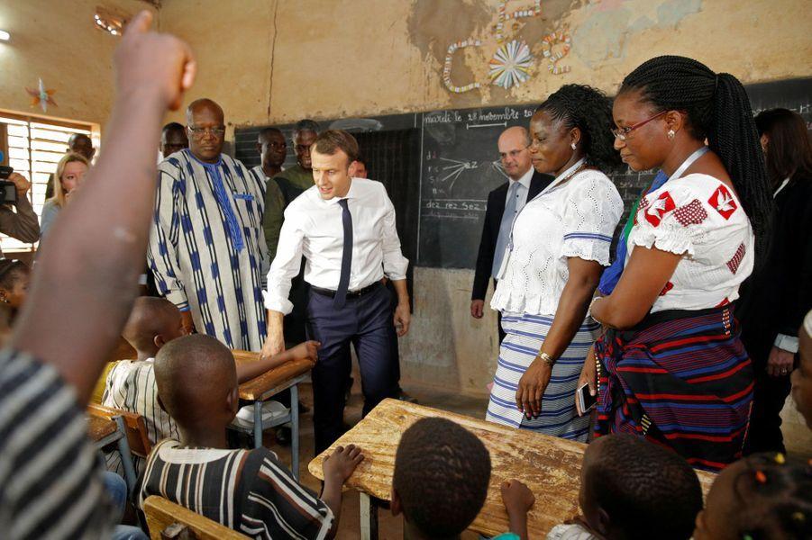 Le ministre de l'Education, Jean-Michel Blanquer, était également présent.