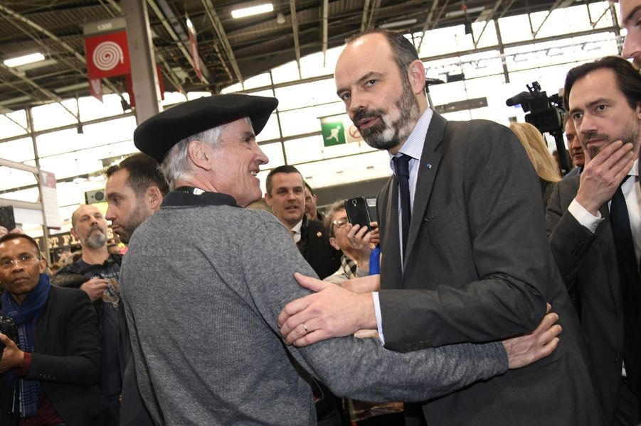 Edouard Philippea visité lundi matin le salon de l'Agriculture.