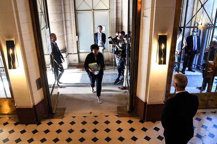 Roselyne Bachelot à son arrivée au ministère de la Culture.
