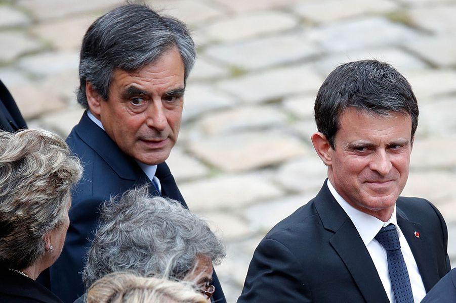 François Fillon et Manuel Valls.