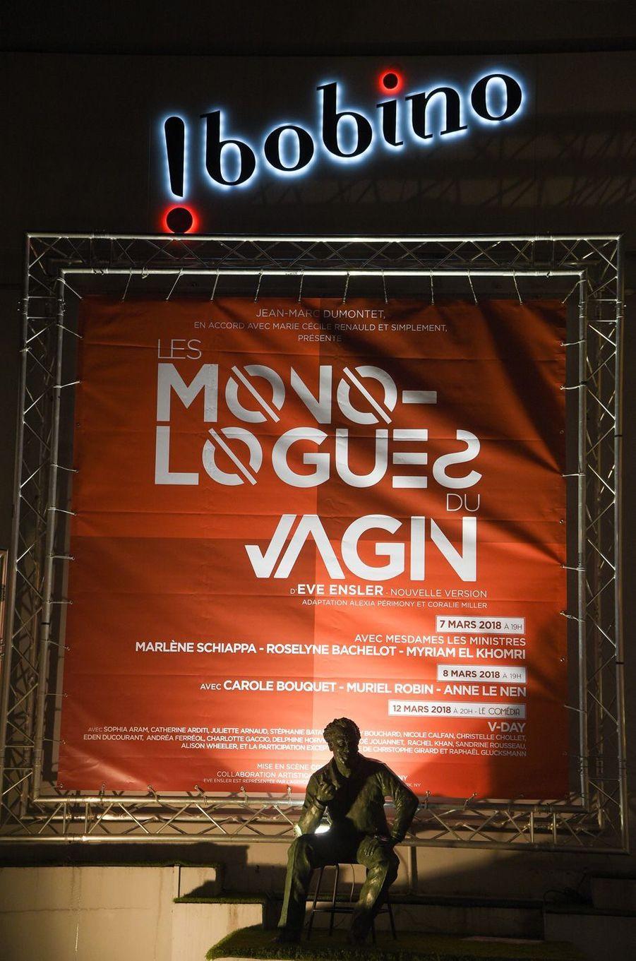 La pièce sera cejeudi à Bobino dans la mise en scène de Coralie Miller avec Muriel Robin, Carole Bouquet et Anne Le Nen.