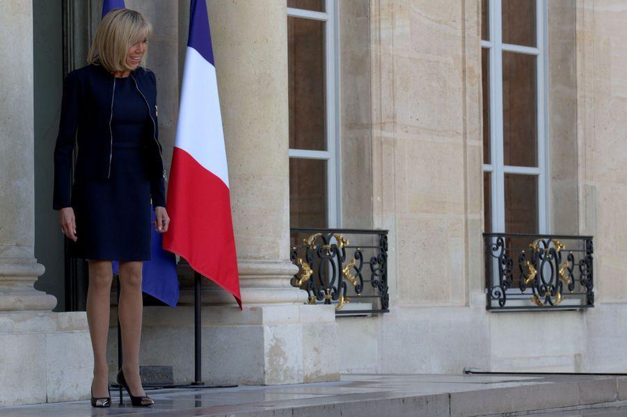 Brigitte Macron mardi à l'Elysée.