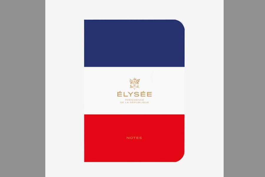Carnet tricolore Élysée (Maison du Carnet)